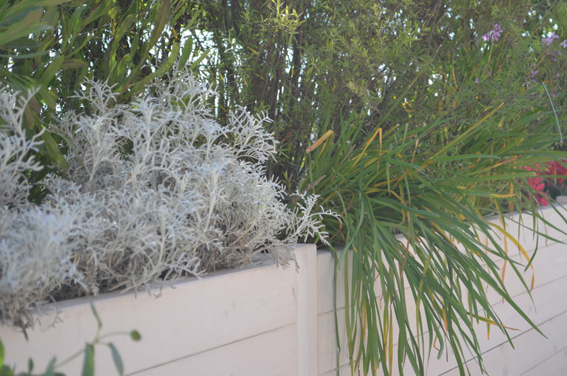 Terrazzo sofisticato luca boursier agronomo paesaggista for Arredi per terrazzo